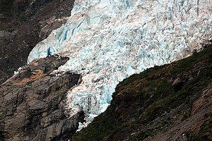 Glacier at Ventisquero Yelcho.