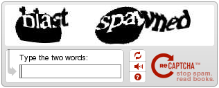 reCAPTCHA screenshot