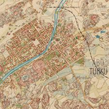 Turku 1881. Picture from the Finnish National Archive, Senaatin